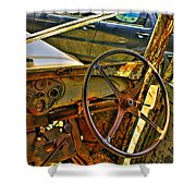 Let Drive Shower Curtain