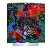 Let Freedom Jazz B Shower Curtain