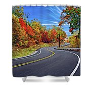 Let It Roll - Pennsylvania Shower Curtain