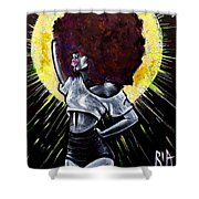 Let It Shine Shower Curtain