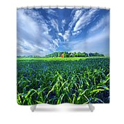 Let Me Never Lose Sight Shower Curtain