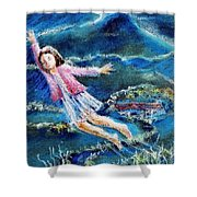 Let Me Play Among The Stars  Shower Curtain
