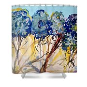 Let Me Wander In Nature  Shower Curtain