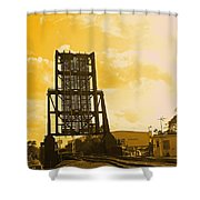 Let The Ships Go Shower Curtain