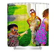 Let The Good Times Roll 1 Shower Curtain