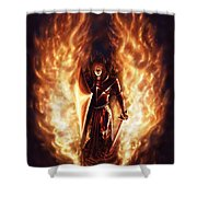 Let The Havens Burn Shower Curtain