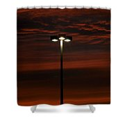Let The Light Lead The Way Shower Curtain