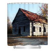Let The Shadows Fall Shower Curtain