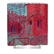 Let Them Eat Cherry Cake #2 Shower Curtain