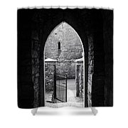Let There Be Light Cong Church And Abbey Cong Ireland Shower Curtain