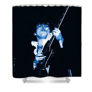 Let There Be Rock And Blues Shower Curtain