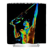 Let There Be Rock Shower Curtain