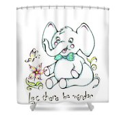 Let There Be Wonder Shower Curtain