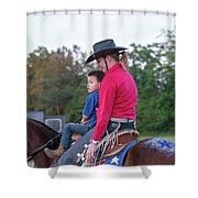 Let Your Babies Grow Up To Be Cowboys Shower Curtain