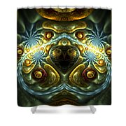 Let Your Feelings Flow Shower Curtain