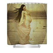 Let Your Soul And Spirit Fly Shower Curtain
