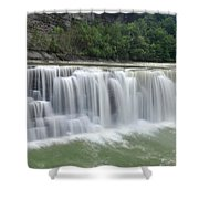 Letchworth Falls Sp Lower Falls Shower Curtain