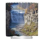 Letchworth Middle Falls Shower Curtain