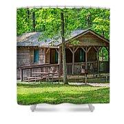 Letchworth State Park Cabin Shower Curtain