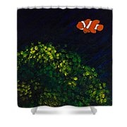 Leting/searching Shower Curtain