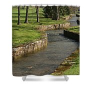 Letort Spring Run Shower Curtain