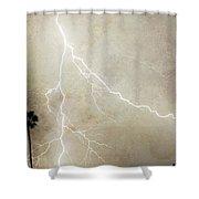 Let's Split Shower Curtain