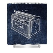 Letter Box Patent Shower Curtain