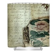 Letter From India Shower Curtain