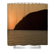 Levanto Sunsets Shower Curtain