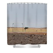 Levels Of Land Shower Curtain