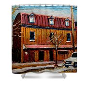 Levine Brothers Plumbers Montreal Shower Curtain