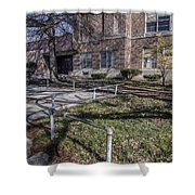 Lew Wallace High School April 2015 016 Shower Curtain