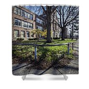 Lew Wallace High School April 2015 017 Shower Curtain