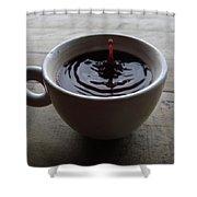 Lewak Coffee Shower Curtain