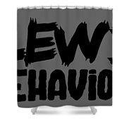 Lewd Behavior Shower Curtain