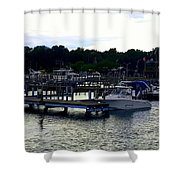 Lexington Harbor Shower Curtain