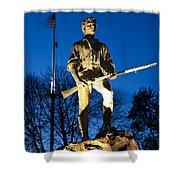 Lexington Minuteman Shower Curtain