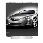 Lexus Shower Curtain