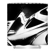 Lexus Bw Abstract Shower Curtain