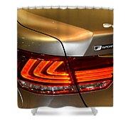 Lexus Ls 460 F Sport Tail Light Shower Curtain