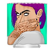 Lexy Panterra  Shower Curtain