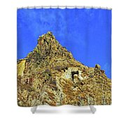 Leydon Hill With Cave Shower Curtain