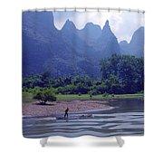 Li River - 196 Shower Curtain