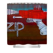 Lib-255 Shower Curtain