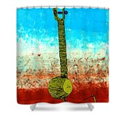 Lib-501 Shower Curtain