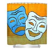 Lib-519 Shower Curtain