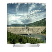 Libby Dam Shower Curtain
