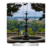 Libby Hill Park Shower Curtain