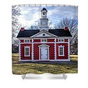 Liberty Bond House Shower Curtain
