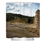 Liberty Cap - Yellowstone Shower Curtain